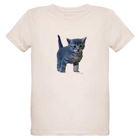 Kitten Organic Kids T-Shirt