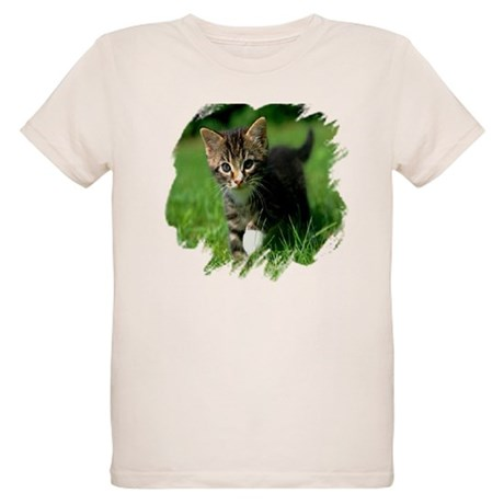 Baby Kitten Organic Kids T-Shirt