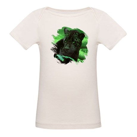 Black Jaguar Organic Baby T-Shirt