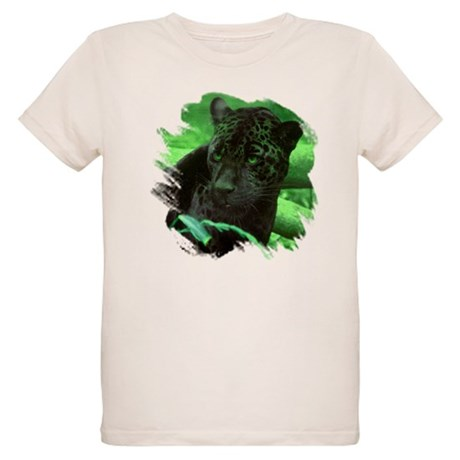 Black Jaguar Organic Kids T-Shirt
