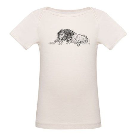 Lion Sketch Organic Baby T-Shirt
