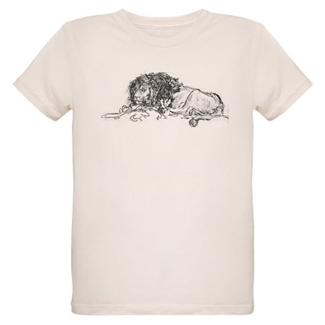 Lion Sketch Organic Kids T-Shirt