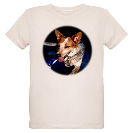 Red Heeler Organic Kids T-Shirt