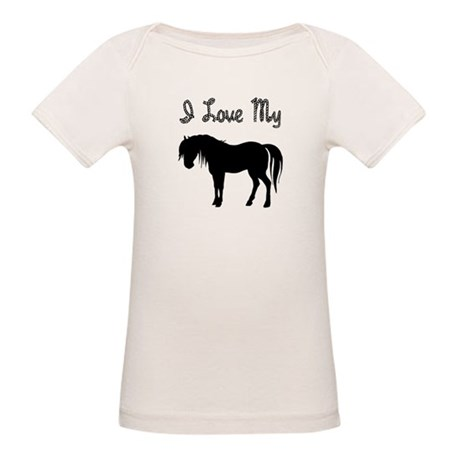Love My Pony Organic Baby T-Shirt