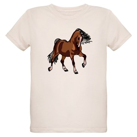 Spirited Horse Organic Kids T-Shirt