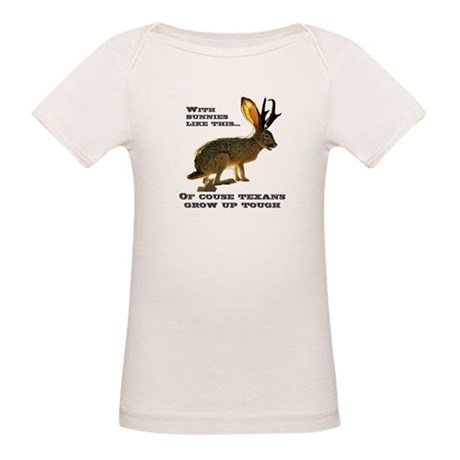 Texas Jackalope Organic Baby T-Shirt