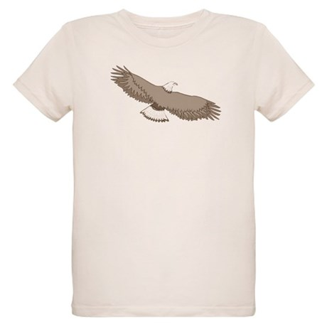 Bald Eagle Organic Kids T-Shirt