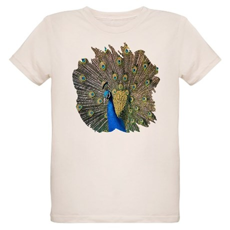 Peacock Organic Kids T-Shirt