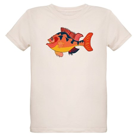 Colorful Fish Organic Kids T-Shirt