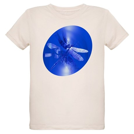 Blue Dragonfly Organic Kids T-Shirt