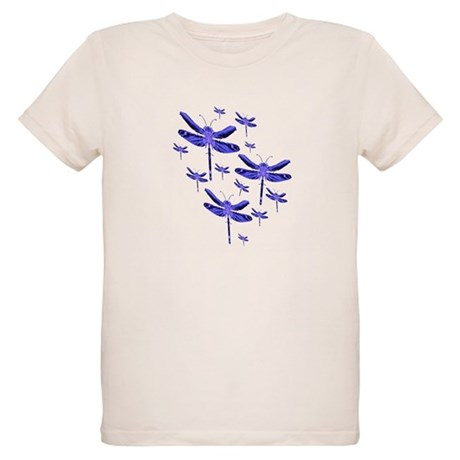 Dragonflies Organic Kids T-Shirt