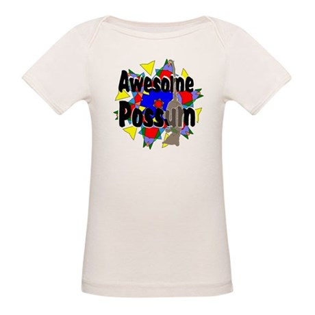 Awesome Possum Kaleidoscope Organic Baby T-Shirt