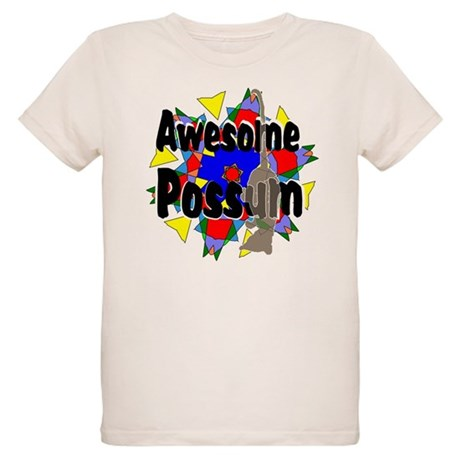 Awesome Possum Kaleidoscope Organic Kids T-Shirt