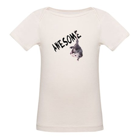 Awesome Possum Organic Baby T-Shirt