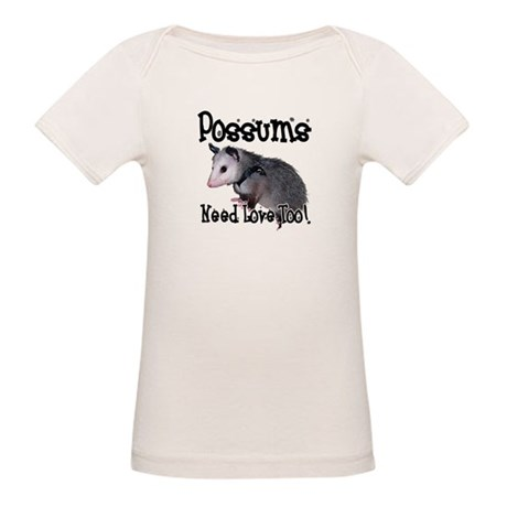 Possums Need Love Organic Baby T-Shirt