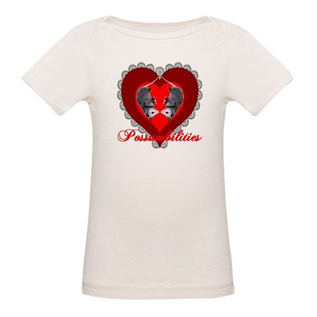 Possumbilities Valentines Day Organic Baby T-Shirt