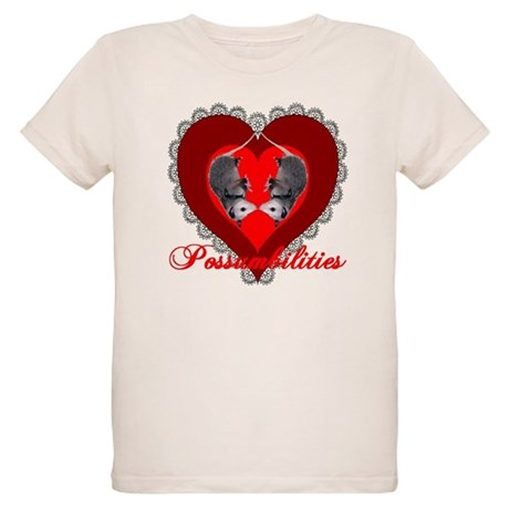 Possumbilities Valentines Day Organic Kids T-Shirt