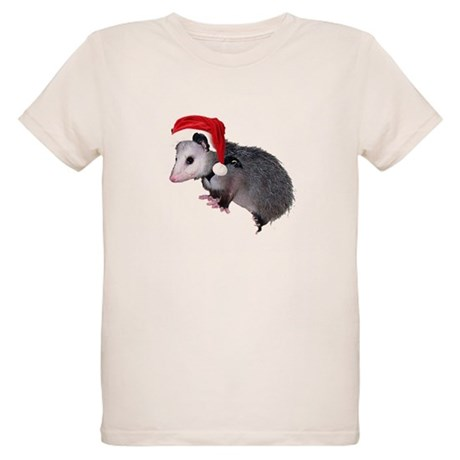 Santa Possum Organic Kids T-Shirt