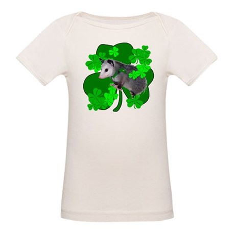 Lucky Irish Possum Organic Baby T-Shirt