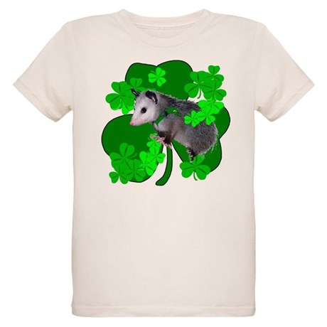 Lucky Irish Possum Organic Kids T-Shirt