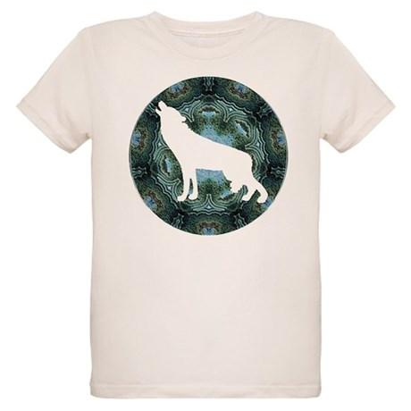 White Wolf Organic Kids T-Shirt