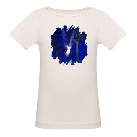 Iridescent Angel Organic Baby T-Shirt