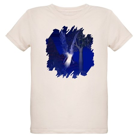 Iridescent Angel Organic Kids T-Shirt