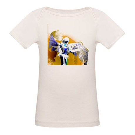 Golden Angel Art Organic Baby T-Shirt