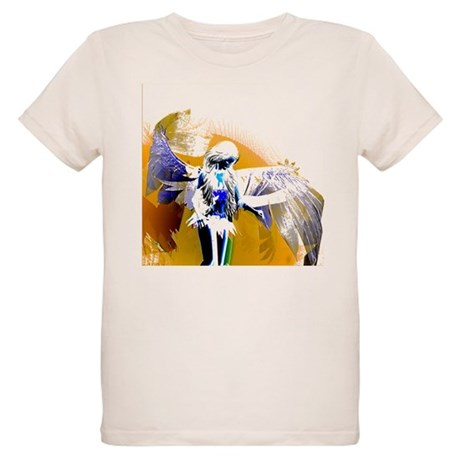 Golden Angel Art Organic Kids T-Shirt