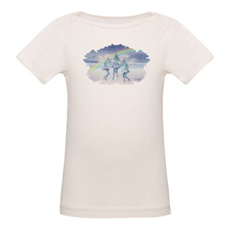 Angels and Rainbows Organic Baby T-Shirt