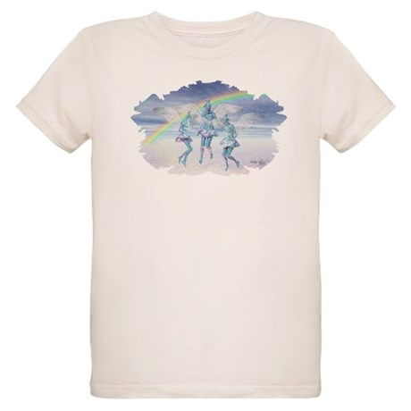 Angels and Rainbows Organic Kids T-Shirt