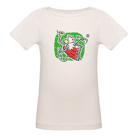 Whymsical Angel Organic Baby T-Shirt