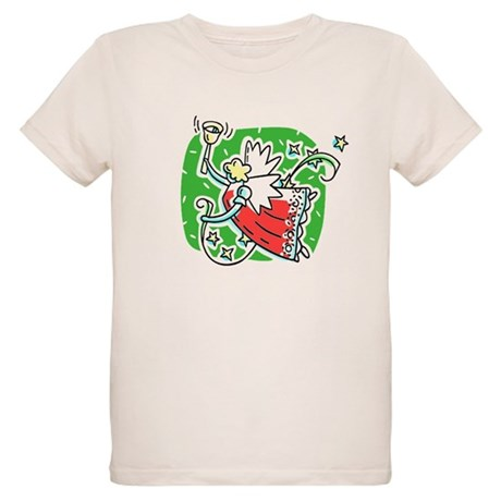 Whymsical Angel Organic Kids T-Shirt