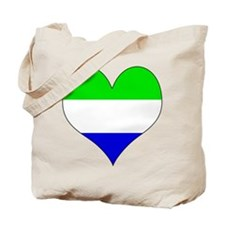 I Love Sierra Leone Tote Bag