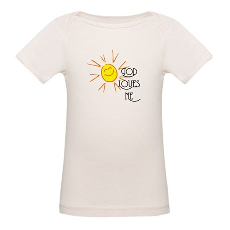 God Loves Me Organic Baby T-Shirt