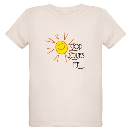 God Loves Me Organic Kids T-Shirt