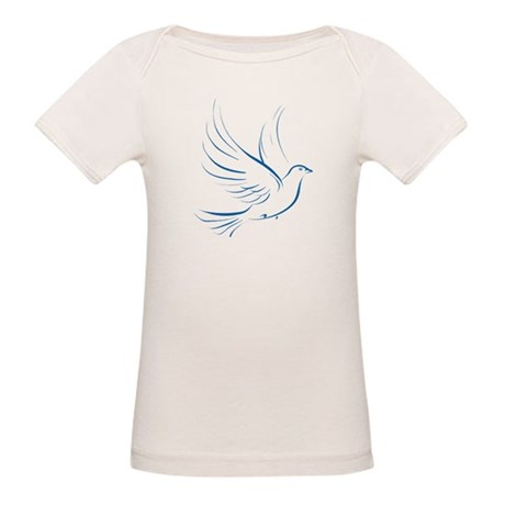Dove of Peace Organic Baby T-Shirt