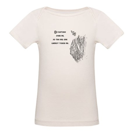 Watching Over Me Organic Baby T-Shirt