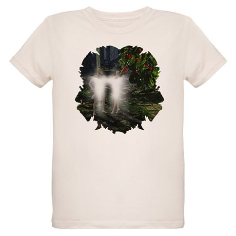 Adam and Eve Before Organic Kids T-Shirt