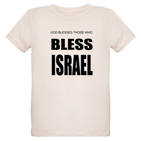Bless Israel Organic Kids T-Shirt