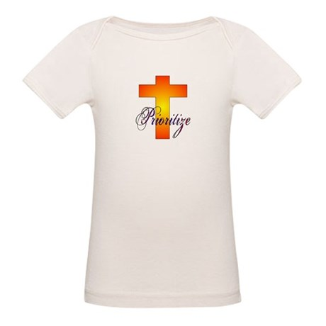 Prioritize Cross Organic Baby T-Shirt