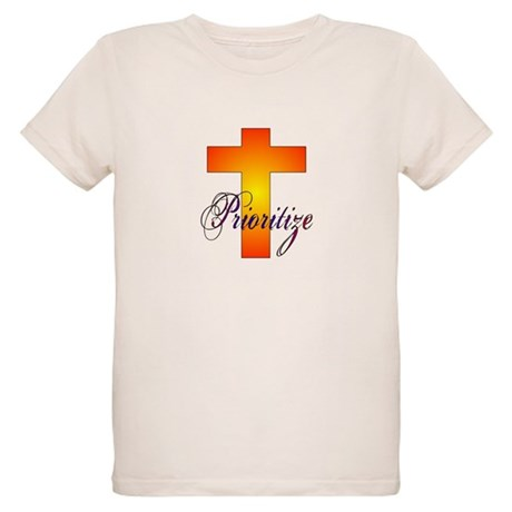 Prioritize Cross Organic Kids T-Shirt