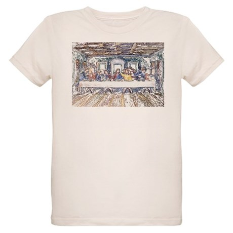 Last Supper Organic Kids T-Shirt