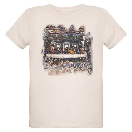 Lord's Last Supper Organic Kids T-Shirt