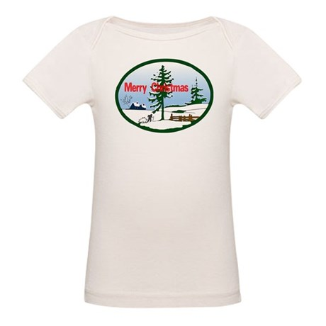 Christmas Snow Organic Baby T-Shirt