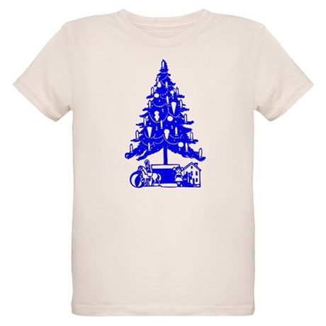 Christmas Tree Organic Kids T-Shirt