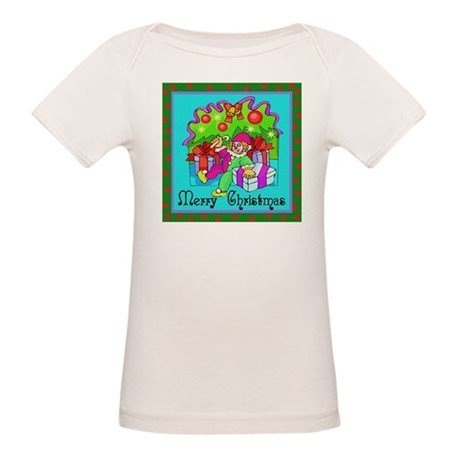 Merry Christmas Clown Organic Baby T-Shirt