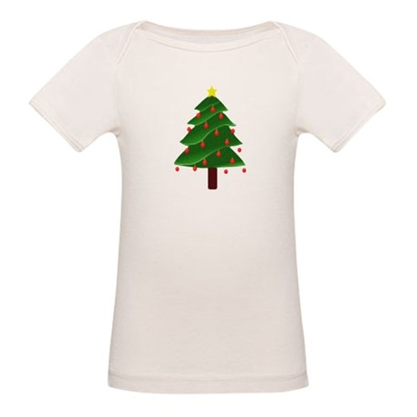 Christmas Tree Organic Baby T-Shirt
