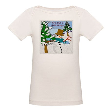 Season's Greetings Organic Baby T-Shirt