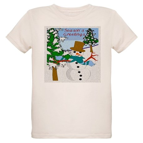 Season's Greetings Organic Kids T-Shirt